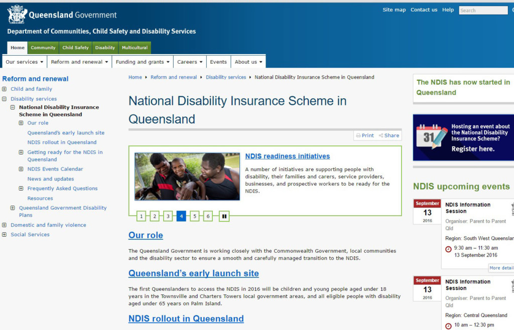 NDIS National Disability Insurance Scheme Cape York