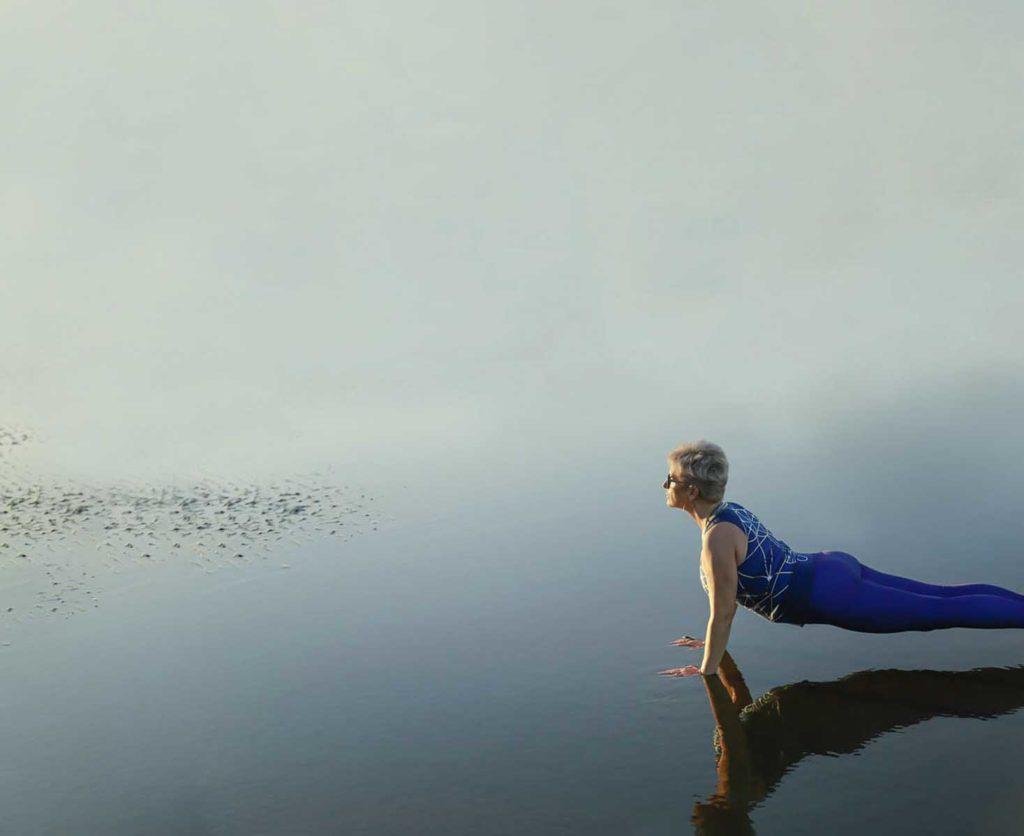Fab Over 40 Yoga fitness photos