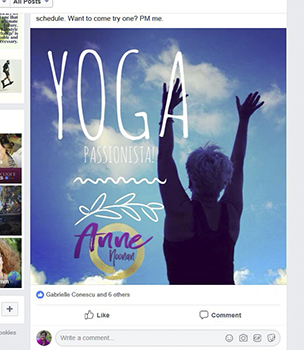 Yoga fitness photography. Fab Over 40