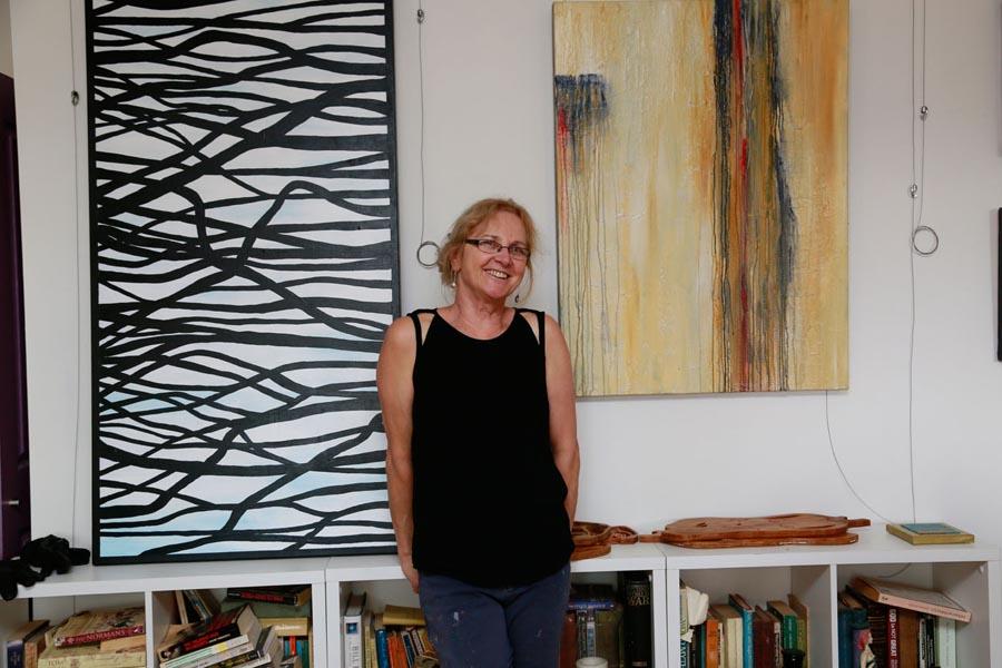 Samfors art trails artist Janina