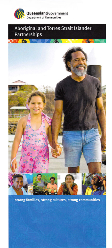 father and daughter from Torres Strait Islands