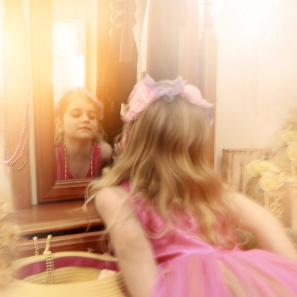 Image of child dreaming. Image by Vicki Yen