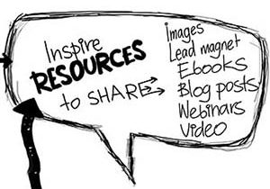 You can create resources to share-Vicki Yen