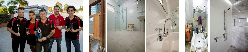 before and after images bathroom renovations